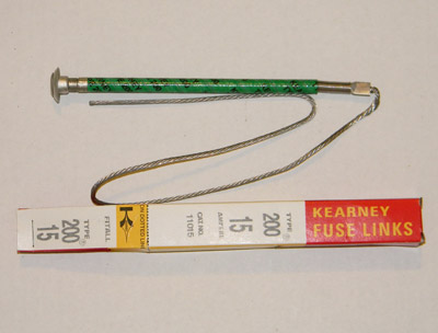 11015 Kearney Fuse Link, Cooper Power Systems 15Amp