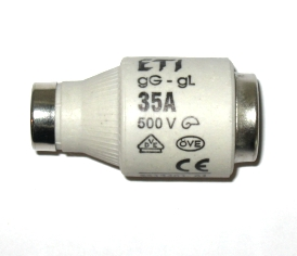 2313401 or 2313401-01 ETI Type D, 35Amp Fuse