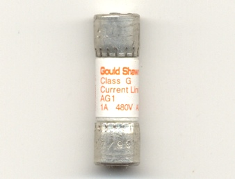 AG1 Gould Shawmut 1Amp Class G Fuse NOS