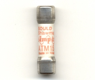 ATM15 Fast Acting Gould Shawmut Fuse 15Amp - NOS