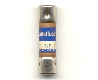 BLF-1 Fast Acting Littelfuse Fuse 1Amp NOS