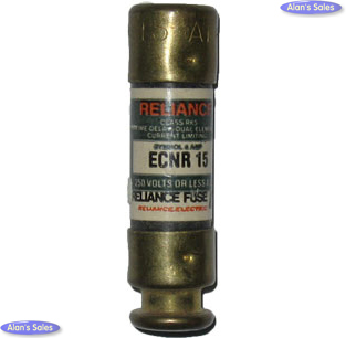 ECNR-15 Class RK5 15Amp Reliance Fuse - USED