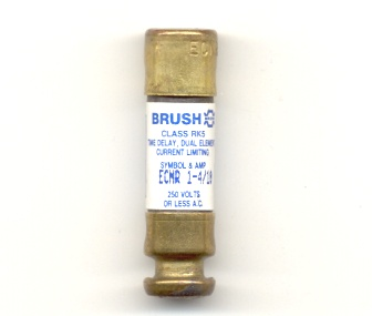 ECNR-1-4/10 Time-Delay 1-4/10Amp Brush Fuse - NOS