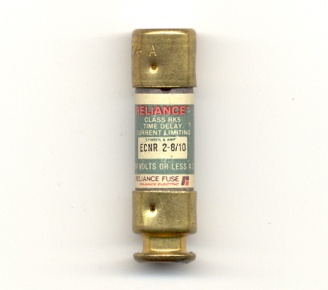 ECNR-2-8/10 Class RK5 2-8/10Amp Reliance Fuse - USED