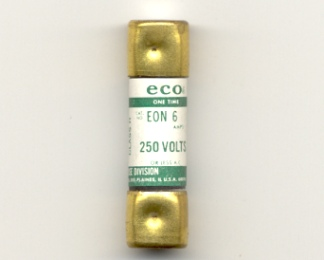 EON-6 Economy One-Time Fuse 6Amp NOS