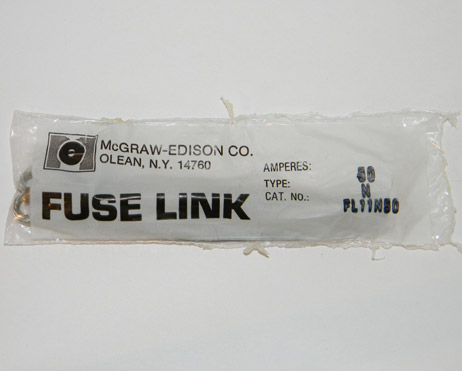 FL11N50 Cooper Power Systems, McGraw Edison Fuse Link 50Amp