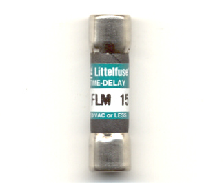 FLM-15 Time-Delay 15Amp Littelfuse Fuse