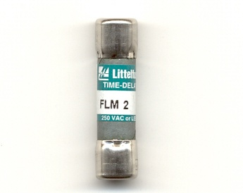 FLM-2 Time-Delay 2Amp Littelfuse Fuse