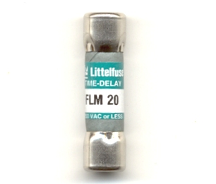 FLM-20 Time-Delay 20Amp Littelfuse Fuse