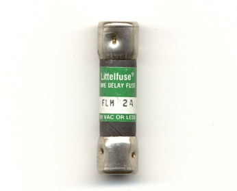 FLM-2 Time-Delay 2Amp Littelfuse Fuse - USED
