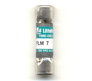 FLM-7 Time-Delay 7Amp Littelfuse Fuse