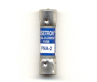 FNA-2 Pin Indicating Time-Delay Bussmann Fuse 2Amp