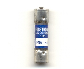 FNA-1/10 Pin Indicating Time-Delay Bussmann Fuse 1/10Amp - NOS