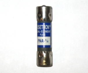 FNA-1/4 Pin Indicating Time-Delay Bussmann Fuse 1/4Amp