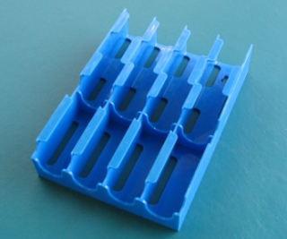 Fuse Storage - Dispenser For Buss Fuse Tins, Blue - USED