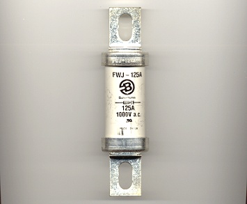 FWJ-125A Bussmann High Speed Semiconductor Fuse 125Amp