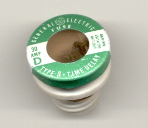 GE S-30 Type S General Electric Plug Fuse 30Amp