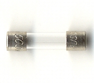 GMC-1.25A Buss Glass Fuse 1.25Amps - 5 each fuse
