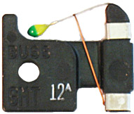GMT-12A Bussmann Alarm Indicating, 12Amp : 5 fuses