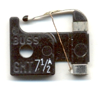 GMT-7-1/2A : GMT-7-1/2 Bussmann Alarm Indicator 7-1/2Amp 5 fuses