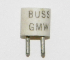GMW-3/4 Bussmann Fast Acting 3/4Amp, 5 fuses