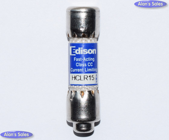 HCLR15 Fast-Acting Edison 15Amp Fuse