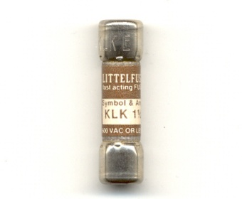 KLK-1-1/2 Littelfuse Fast Acting Fuse 1-1/2Amp NOS