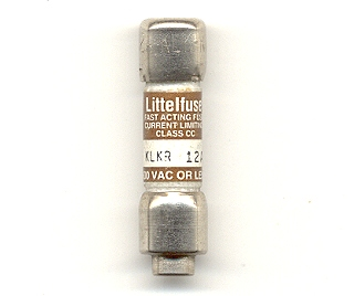 KLKR-12 Fast-Acting Littelfuse Class CC 12Amp NOS