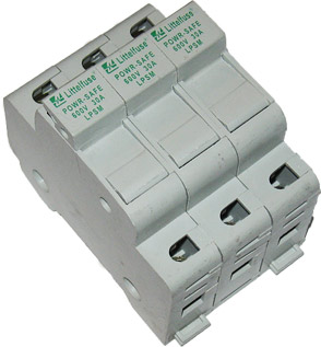 LPSM003 Littelfuse Powr-Safe Fuseholder 3pole - USED