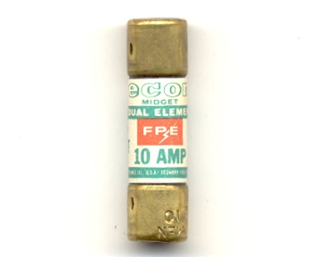 MEN-10 Time-Delay Economy Fuse 10Amp NOS