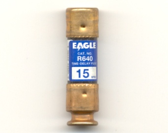 R640-15 Time-Delay 15Amp Eagle Fuse