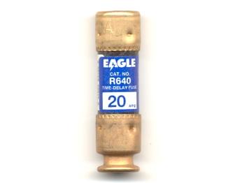 R640-20 Time-Delay 20Amp Eagle Fuse
