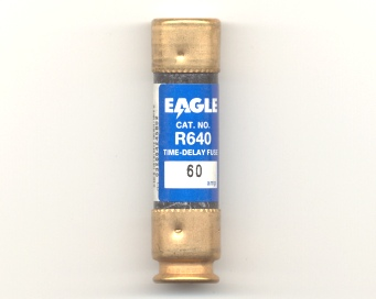 R640-60 Time-Delay 60Amp Eagle Fuse