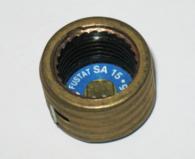 SA-15 Fustat Adapter for 15Amp Type S Plug Fuses
