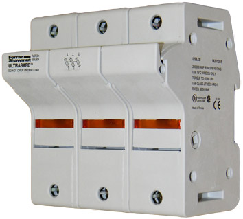 US6J3I UltraSafe Ferraz Shawmut Fuse Holder